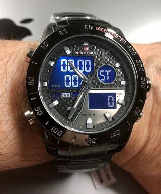 Reloj NAVIFORCE (negro/gris)