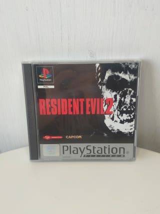 juego resident Evil 2 Playstation 1 completo