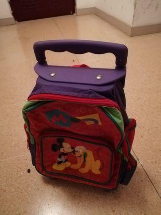 mochila para niño con ruedas