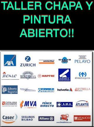 PINTAR TU COCHE ,TALLER CHAPA Y PINTURA