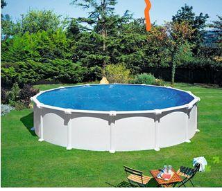 piscina GRE portátil