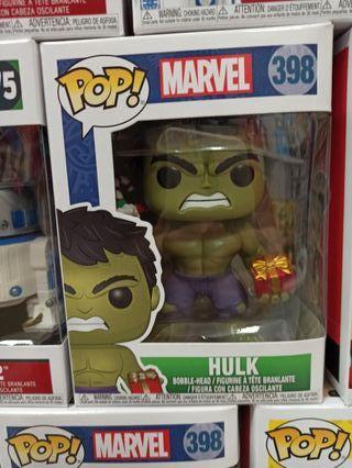 Funko POP! Hulk Navidad Marvel