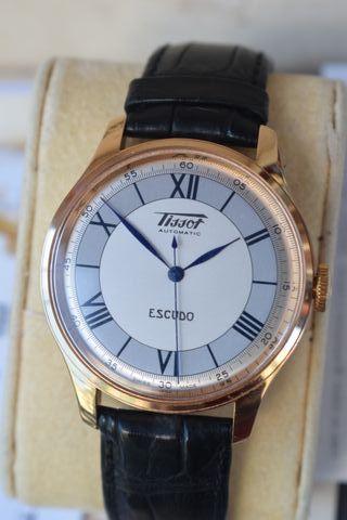 Reloj TISSOT ESCUDO oro 18k ;40mm ;solo 200 unidad