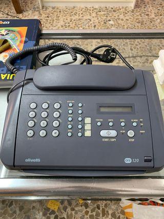 Teléfono y fax Olivetti OFX 120