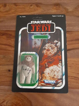 Star Wars Chief Chirpa vintage años 80