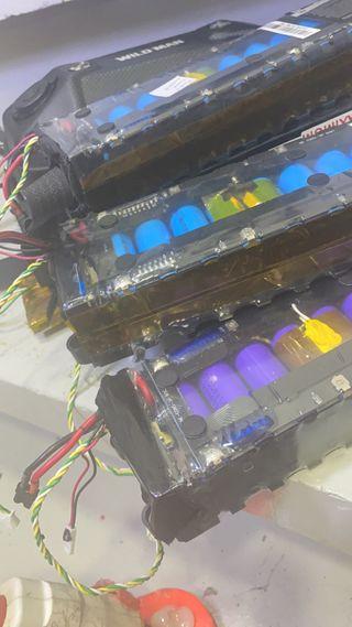 Reparacion de baterias litio ,bateria patinete