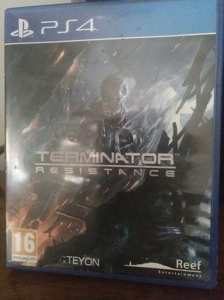 Terminator resistencia PS4