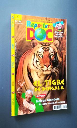 n97. REPORTERO DOC.. EL tigre, Mandela..