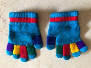Guantes lana niños