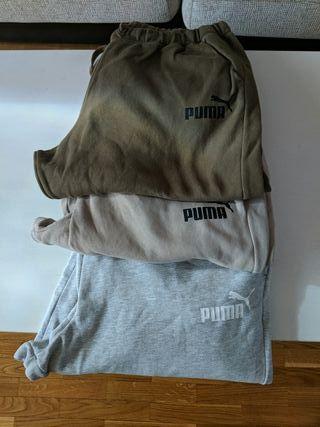 Lote 3 pantalones chándal Puma XXL