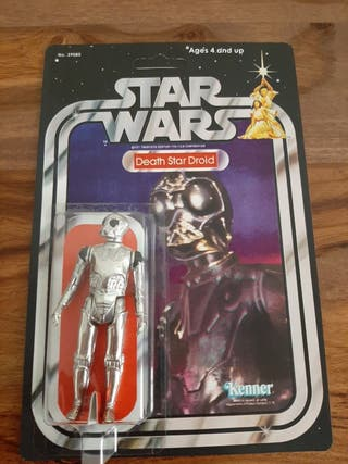 Star Wars Death Star Droid vintage años 70/80