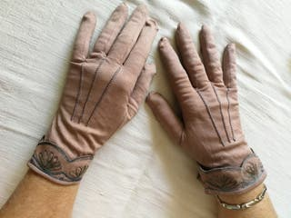 Guantes Vintage Mujer