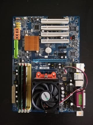 Placa base GIGABYTE GA-M61P-S3 Rev 1.0
