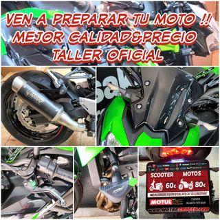 OFERTA REVISIÓN TALLER MOTOS CRUCES MOLLET