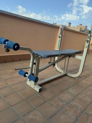 Banco de pecho/musculación.