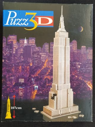 puzzle 3d (empire state)