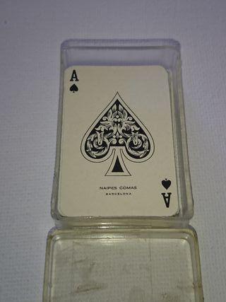 Mini baraja poker Comas