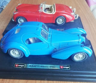 maqueta coche antiguo Burago