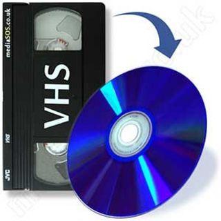 CINTA VHS A DVD