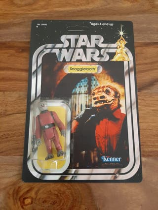 Star Wars Snaggletooth vintage años 70/80