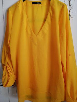 Camisa amarilla. T40. Atmosphere