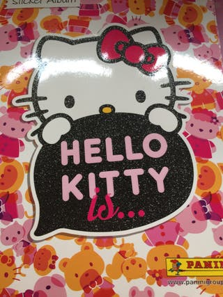 Busco cromos hello kitty is