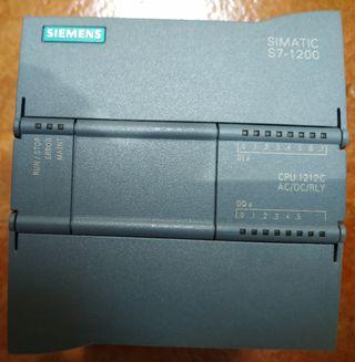 Autómata Siemens Simatic 1212C
