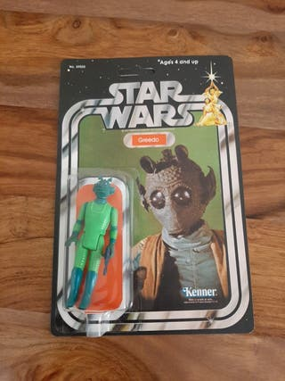 Star Wars Greedo vintage años 70/80