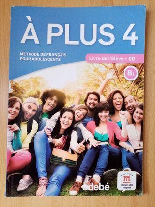 libros francés à plus 4