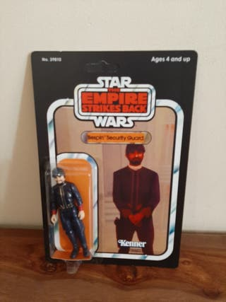 Star Wars Bespin Security Guard Vintage