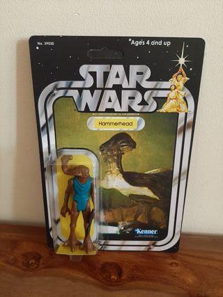 Star Wars Hammerhead vintage añosb70/80