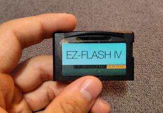 EZ-FLASH para Gameboy Advance + Micro SD 16gb