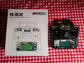 Emisora controladora Flysky FS-i6