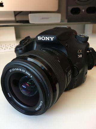 Camara Reflex Sony Alpha 58