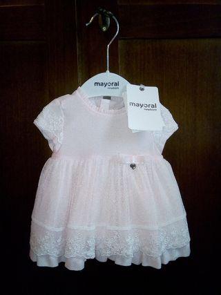 vestido princesa bebe