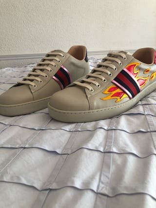 Gucci Ace with Flames
