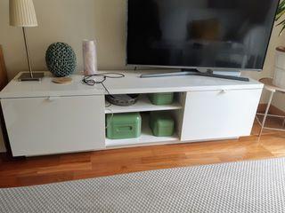 Mueble TV IKEA blanco