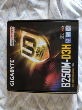 Placa Base Gigabyte B250M-D3H