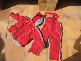 chaqueta+pantalón nieve y esquí (talla3)