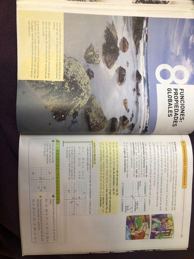 Libro de matemáticas de 2 eso