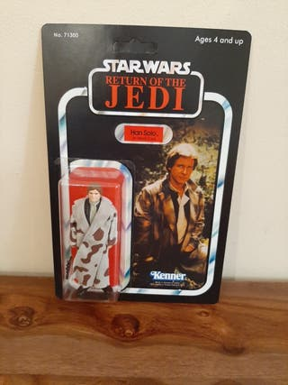 Star Wars Han Solo Trench Coat vintage años 70/80
