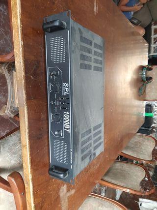 amplificador de 1000w con bluetooth