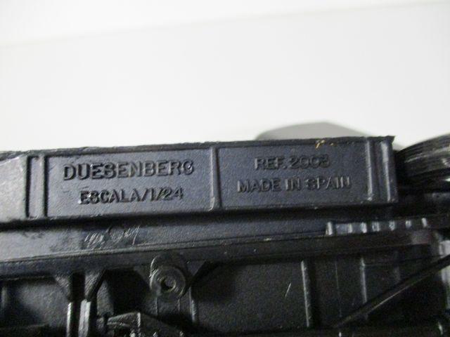 DUESENBERG 1/24 METAL MIRA ESPAÑA AÑOS 1980 USADO