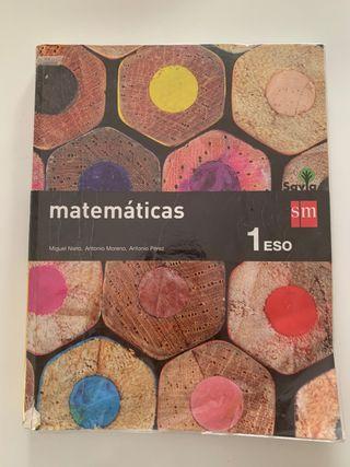 Matemáticas 1ESO SM Savia