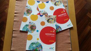 Libro matemáticas 2 ESO Anaya