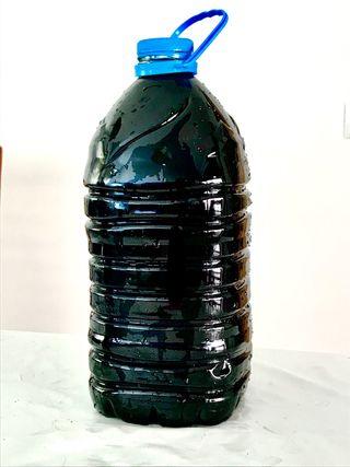 Humus de lombriz lixiviado liquido organico