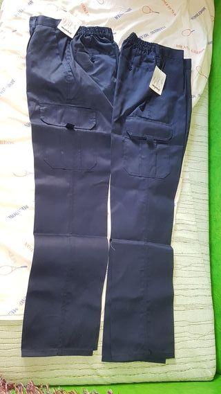 2 pantalón de trabajo