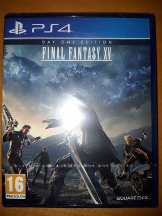 Final Fantasy XV PS4 A ESTRENAR