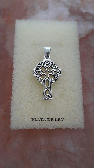 Cruz celta plata de ley