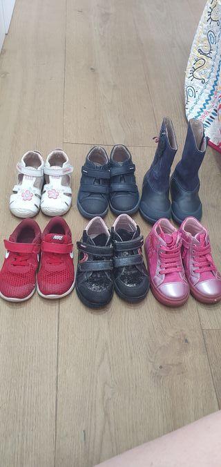 zapatos niña talla 24 y 25 de marca